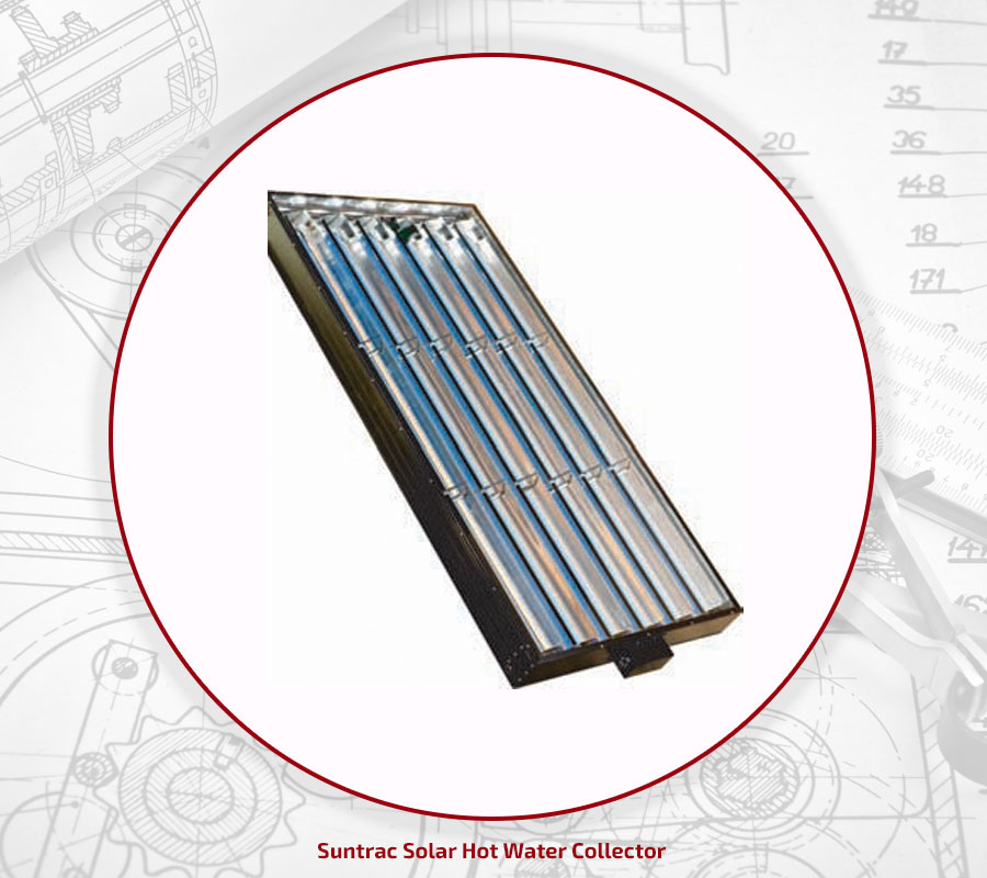ThermaFlo Incorporated - Suntrac Solar Hot Water Collector